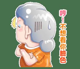 Taiwan grandmother 03 sticker #2337135
