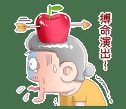 Taiwan grandmother 03 sticker #2337142