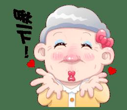 Taiwan grandmother 03 sticker #2337145