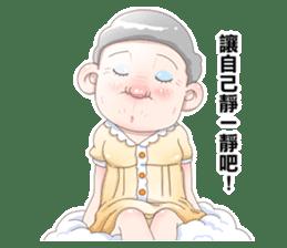 Taiwan grandmother 03 sticker #2337146