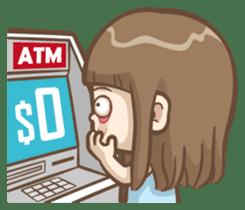 Misa's daily life 2 sticker #2338299
