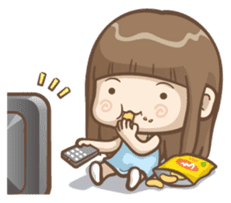 Misa's daily life 2 sticker #2338316