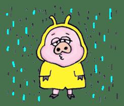 Child of pig sticker #2344521