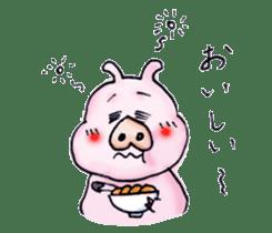 Child of pig sticker #2344522
