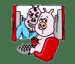 Child of pig sticker #2344550