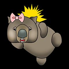 Cathy wombat!