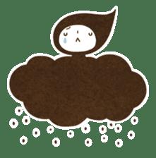 The fairy of leaves konoppechan(English) sticker #2346765