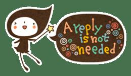 The fairy of leaves konoppechan(English) sticker #2346766