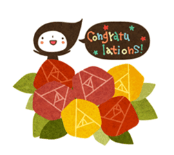 The fairy of leaves konoppechan(English) sticker #2346768