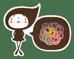 The fairy of leaves konoppechan(English) sticker #2346772