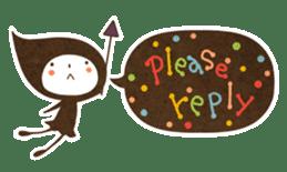 The fairy of leaves konoppechan(English) sticker #2346775