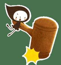 The fairy of leaves konoppechan(English) sticker #2346789