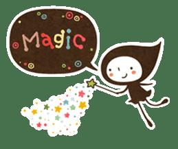 The fairy of leaves konoppechan(English) sticker #2346790