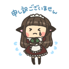 nekomimichan sticker #2346802