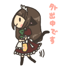 nekomimichan sticker #2346804
