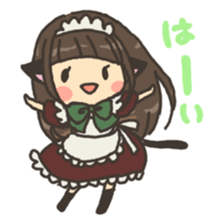 nekomimichan sticker #2346811