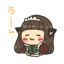 nekomimichan sticker #2346812