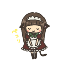 nekomimichan sticker #2346813