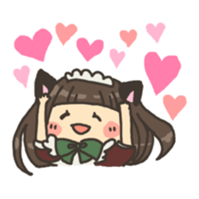 nekomimichan sticker #2346818