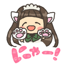 nekomimichan sticker #2346820