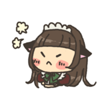 nekomimichan sticker #2346826