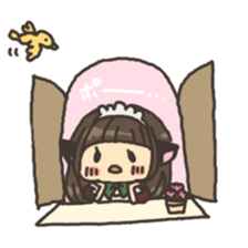 nekomimichan sticker #2346827