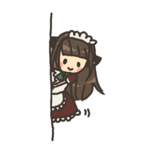 nekomimichan sticker #2346829