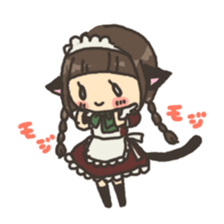 nekomimichan sticker #2346831