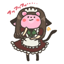 nekomimichan sticker #2346832
