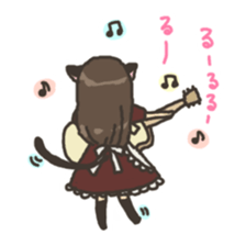 nekomimichan sticker #2346836