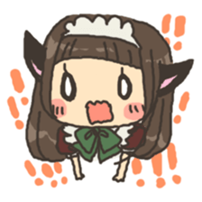 nekomimichan sticker #2346838
