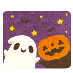 lovely ghost sticker(English ver)