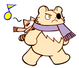 The bear and the raccoon sticker #2354862