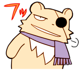 The bear and the raccoon sticker #2354872