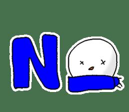 Funny Snowman sticker #2355405
