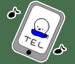 Funny Snowman sticker #2355410