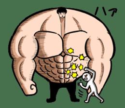 the Muscle men2 sticker #2357213