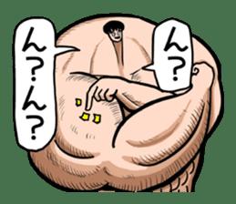 the Muscle men2 sticker #2357214