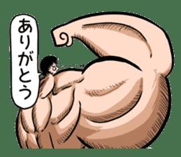 the Muscle men2 sticker #2357220