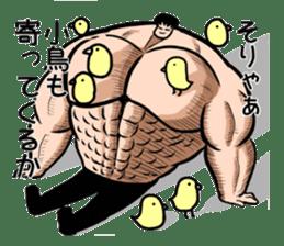 the Muscle men2 sticker #2357222