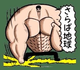 the Muscle men2 sticker #2357227