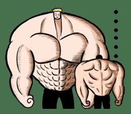 the Muscle men2 sticker #2357231