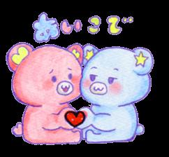 Love Bears Couple sticker #2359617