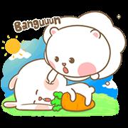 สติ๊กเกอร์ไลน์ Mhee Noom & Tai Nim