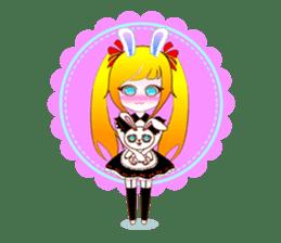 Rabbit Maid Love And Everyday sticker #2361573