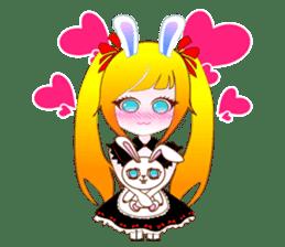Rabbit Maid Love And Everyday sticker #2361574