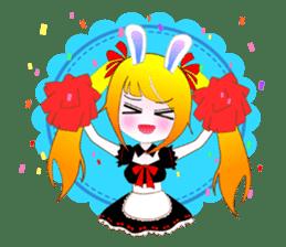 Rabbit Maid Love And Everyday sticker #2361584