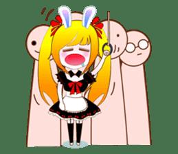 Rabbit Maid Love And Everyday sticker #2361589