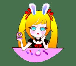 Rabbit Maid Love And Everyday sticker #2361594