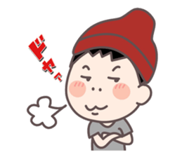 CHUNAYAMA-san sticker #2363899